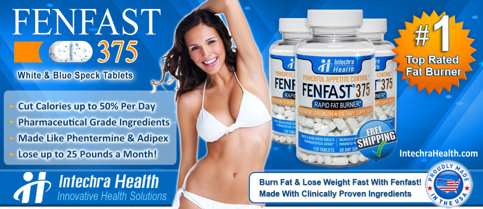 FenFast 375 diet pills reviews - Looking for best natural substitutes for Phentermine? Read real FenFast 375 reviews before you buy over the counter closest diet pill similar to Adipex drugs! Bad side effects, rapid fat burning results, effectiveness in losing weight safely, main active ingredients in the weight loss supplements and more